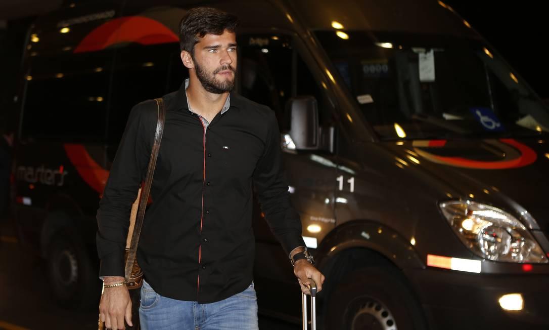 Alisson, goleiro do Internacional, também está com o grupo André Mourão/Mowa Press/Divulgação