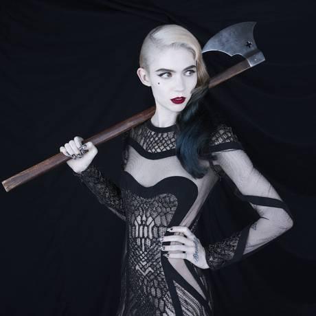 Claire Boucher, a Grimes, foi contratada pela produtora de Jay Z Foto: Divulgação / Divulgação