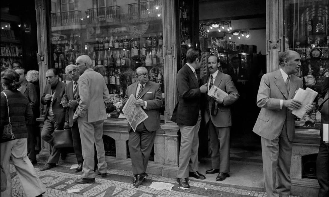 Cenas de Paris na década de 1970 Chico Mascarenhas