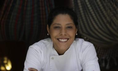Bianca Barbosa é adepta da ecogastronomia: 'Se eu puder entregar um alimento melhor, estou satisfeita' Foto: Marcelo Carnaval / Agência O Globo