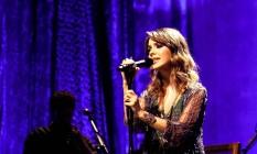A cantora Sandy Foto: Divulgação/22-04-2014