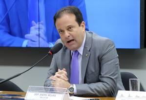 O Deputado André Moura, líder do PSC na Câmara Foto: Luís Macedo / Agência Camara