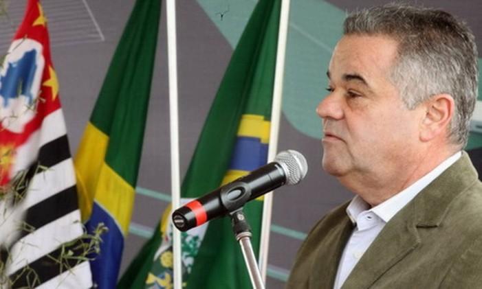 José Pavan Junior era o prefeito de Paulínia em 2012 Foto: Divulgação