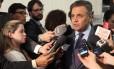 Aécio Neves admite que PSDB pode flexibilizar apoio a medidas do ajuste fiscal