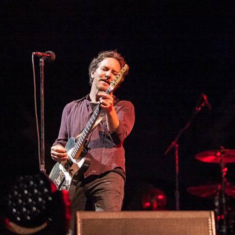 Eddie Vedder no show do Pearl Jam em Porto Alegre Foto: Divulgação