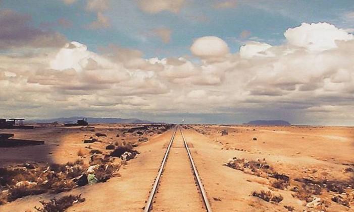 Infinita Railway, em Uyuni, na Bolívia Foto: @rnacarati / Instagram