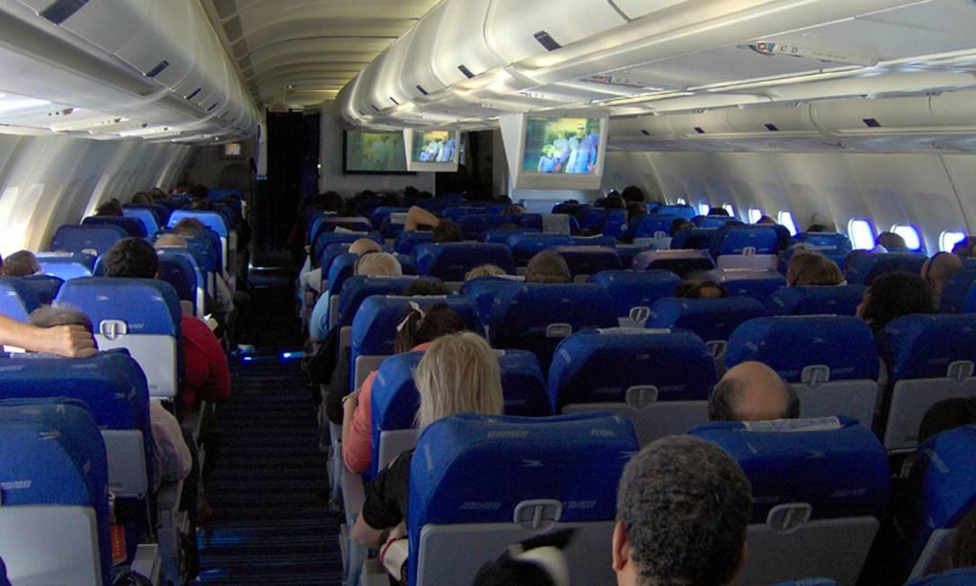 Pesquisa elegeu os comportamentos mais irritantes de passageiros durante voo Foto: Creative Commons / Divulgação