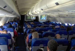 Passageiros da América do Norte são os mais pesados do mundo Foto: Creative Commons / Divulgação