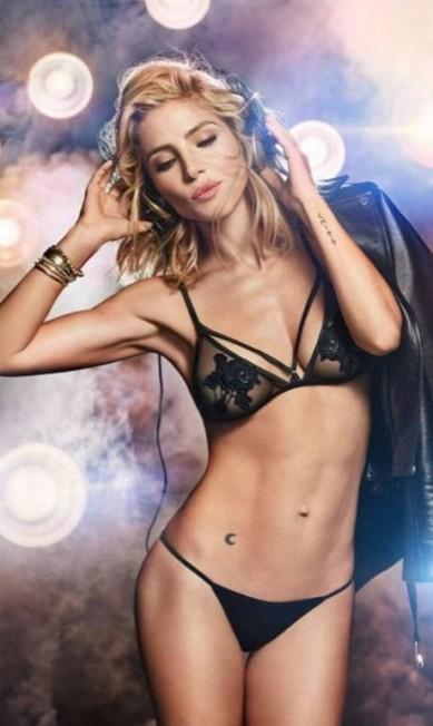 A atriz espanhola Elsa Pataky, casada com o galã Chris Hemsworth, é a estrela da nova campanha da grife de lingerie Women's Secret (não é Victoria's Secret, por favor). A loura aparece em fotos e num vídeo Divulgação