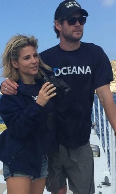 Elsa Pataky e o marido, o ator Chris Hemsworth, conhecido como o Thor Reprodução/ Instagram