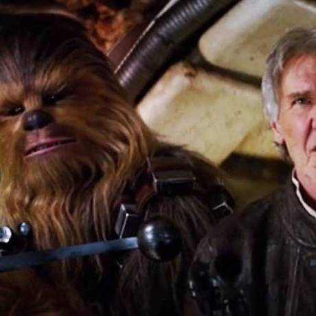 Cena do sétimo filme da franquia 'Star Wars' Foto: Reprodução