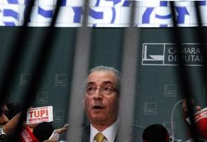 O presidente da Câmara, Eduardo Cunha Foto: André Coelho/11-11-2015 / Agência O Globo