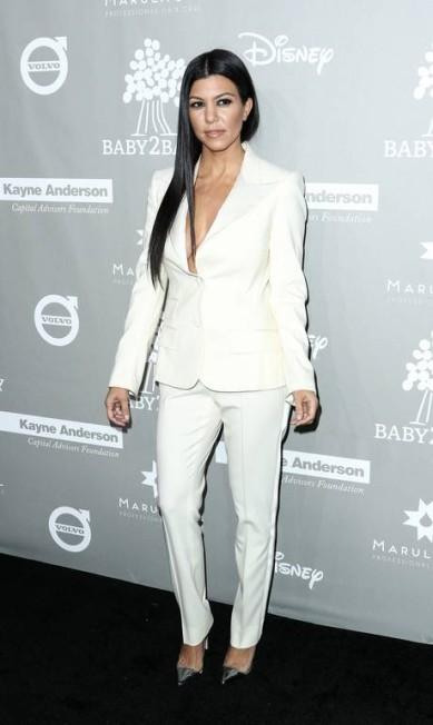 A socialite Kourtney Kardashian, irmã de Kim John Salangsang / John Salangsang/Invision/AP