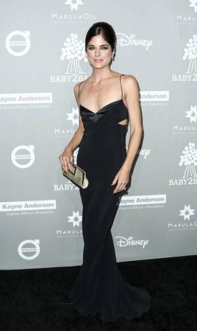 A atriz Selma Blair também apostou no pretinho John Salangsang / John Salangsang/Invision/AP