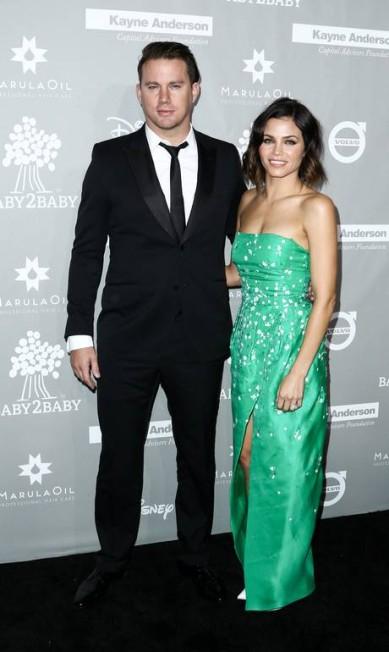 O casal Channing Tatum e Jenna Dewan Tatum John Salangsang / John Salangsang/Invision/AP