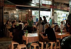 Pizzaria no Rio de Janeiro Foto: Eduardo Zappia / Bloomberg News