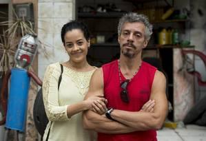 Domingas (Maeve Jinkings) e Juca (Osvaldo Mil): separação Foto: TV Globo/Divulgação