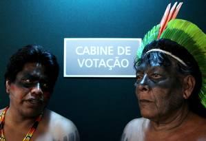 CPI da Funai e Incra foi criada pela bancada ruralista para analisar demarcação de terras Foto: Michel Filho / Agência O Globo