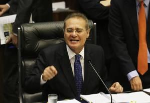 O Presidente do Senado Federal, Renan Calheiros (PMDB-AL) Foto: Ailton de Freitas / 07/10/2015 / Arquivo O Globo