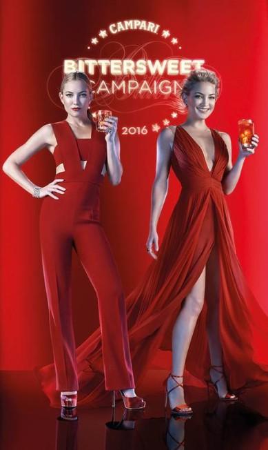 A Campari divulgou nesta quarta-feira todas as fotos de seu calendário 2016. A atriz Kate Hudson é a estrela da folha. Confira todos os meses Divulgação