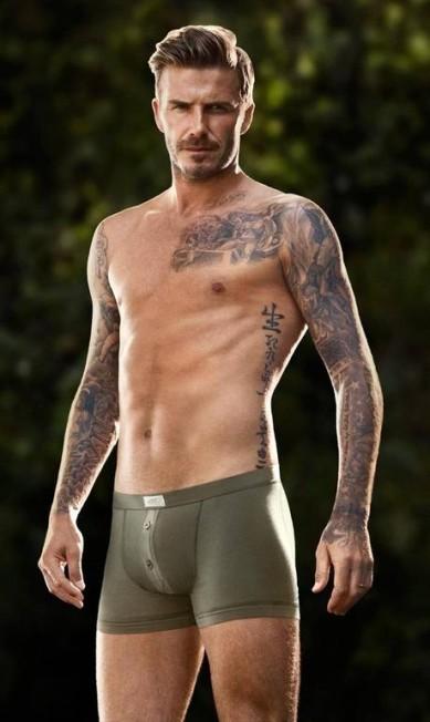 Beckham tem uma parceria com a H&M Divulgação