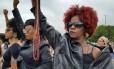Mulheres participam de mobilização considerada histórica pela organização