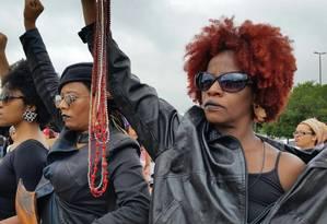 Mulheres participam de mobilização considerada histórica pela organização Foto: Reprodução/Facebook