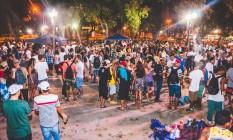 Atração democrática. Nas duas primeiras semanas, a roda cultural atraiu cerca de 200 pessoas por noite Foto: Divulgação/ Erick Araújo