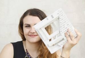 Anielle Guedes, fundadora da Urban 3D, propõe usar tecnologias de impressão em 3D para construir moradias de baixo custo e foi uma das venecedoras do prêmio Foto: Ana Branco