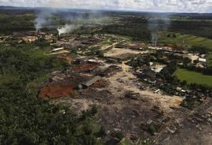 Para o Instituto do Homem e Meio Ambiente da Amazônia, os dados do SEEG mostram a importância da continuidade das políticas de controle da devastação para o cumprimento das metas climáticas Foto: NACHO DOCE / REUTERS