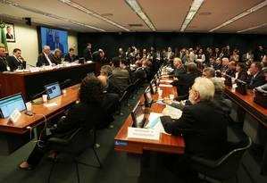 Apreciação do parecer preliminar referente à representação em desfavor do deputado Eduardo Cunha Foto: Jorge William / Agência O Globo