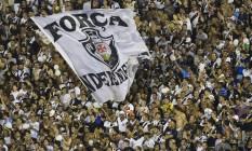 Torcida do Vasco em São Januário Foto: Guito Moreto / Agência O Globo