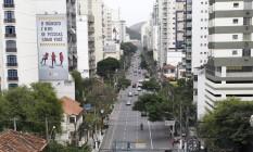 Trânsito na Avenida Roberto Silveira Foto: Pedro Teixeira / Agência O Globo / 10-9-2015