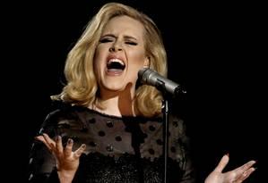 A cantora Adele Foto: Matt Sayles / AP