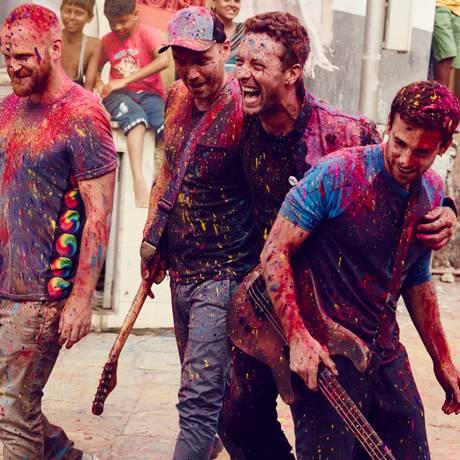 Coldplay lança o disco 'A head full of dreams' em dezembro Foto: Divulgação/Julie Kennedy