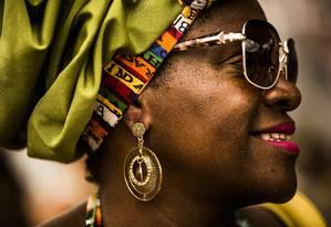 Rodas de capoeira, grupos de dança e de música afro tomam conta de vários pontos do Centro do Rio em comemoração ao Dia Nacional da Consciência Negra Foto: Fabio Seixo / Agência O Globo