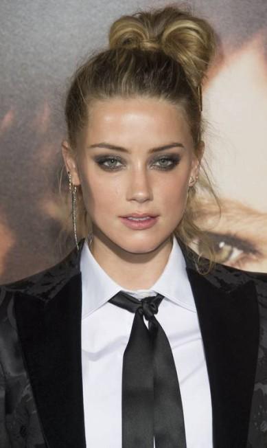 A beleza de Amber Heard VALERIE MACON / AFP