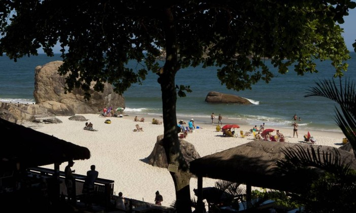BA Rio de Janeiro(rj) - 02/02/2014 - VERÃO ABRICÓ - Um tour por abricó, a unica praia no rio de janeiro que permite oficialmente a prá¡tica do naturalismo.Foto:Guilherme leporace Foto: Guilherme Leporace / Agência O Globo