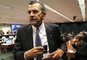 """Estilo direto. """"É lobby mesmo, mas não significa garantia de aprovação"""", resume Oliveira Foto: Givaldo Barbosa"""