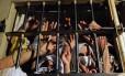 Presos retratam superlotação no sistema prisional brasileiro. Estudo condena política mais encarceradora
