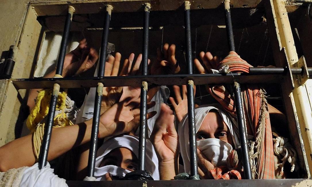 Número de presos bateu recorde Foto: Divulgação