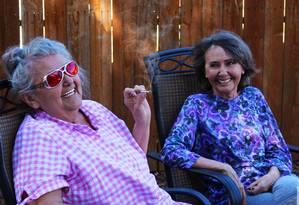 O TravelTHC permite o aluguel de imóveis onde se pode consumir maconha, em determinados estados americanos Foto: The Mary Jane Group / Reprodução