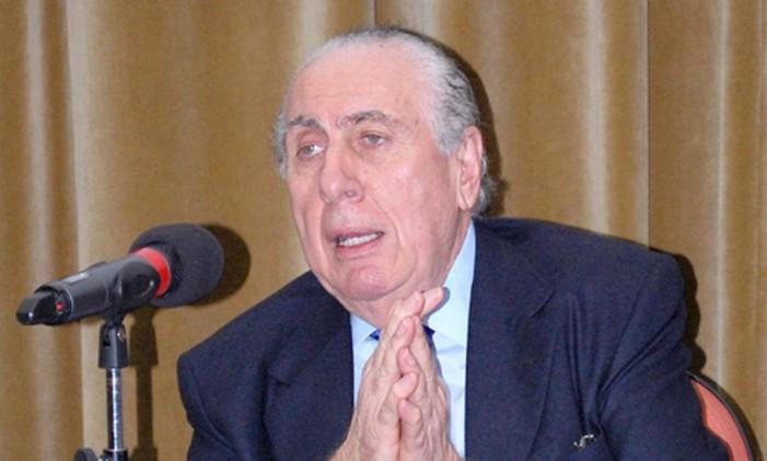 Salim Schahin, um dos sócios do grupo Schahin Foto: Divulgação