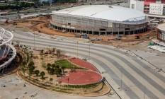 Evento-teste marcado para os dias 18 a 20 de março pode ser adiado por atraso nas obras do velódromo do Parque Olímpico da Barra Foto: Heusi Action/Andre Motta / Divulgação