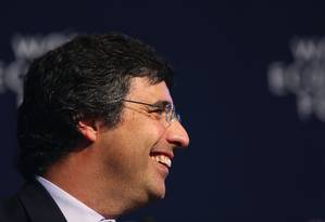 André Esteves, do BTG Pactual Foto: Chris Ratcliffe / Bloomberg News/21-1-2015