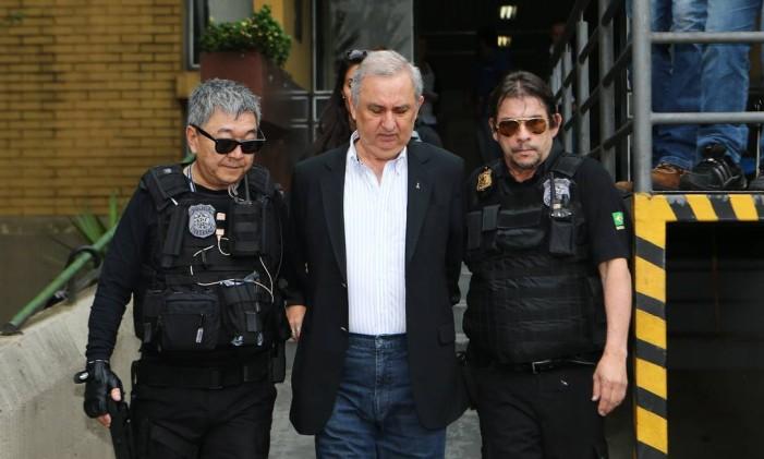 O empresário José Carlos Bumlai, preso preventivamente pela Polícia Federal Foto: Geraldo Bubniak/24-11-2015 / Arquivo O Globo