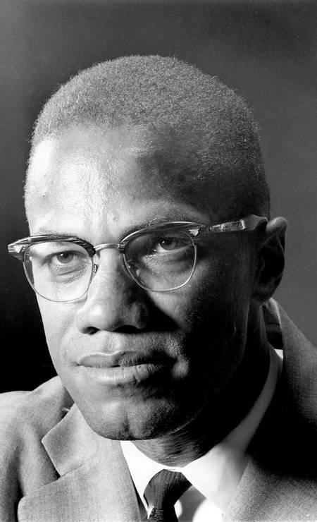 Malcolm X, em foto de 5 de março de 1964 Foto: Eddie Adams / AP