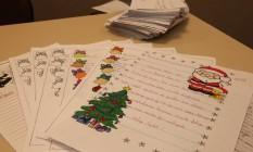 Cartas de Natal recebidas pelos Correios Foto: Ângelo Antônio Duarte/26-11-2014