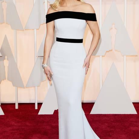 Reese Witherspoon durante a cerimônia do Oscar deste ano; atriz fundou a produtora Pacific Standard Foto: Jason Merritt / AFP
