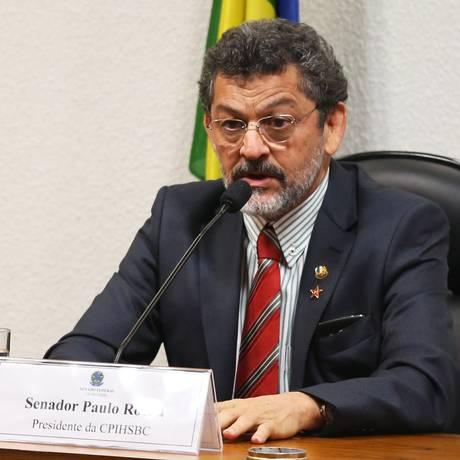 Senador Paulo Rocha (PT-PA) Foto: Ailton de Freitas / Agência O Globo